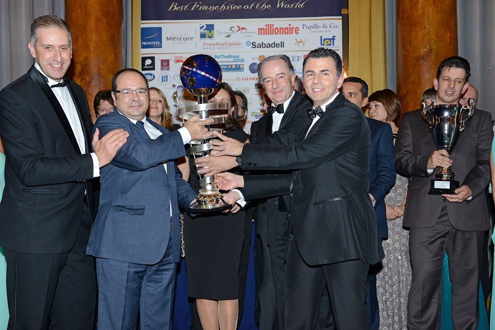 Spain wins the Best Franchisse of The World 2014